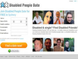 what some dating sites disabled people