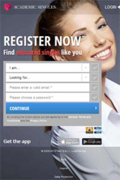 AcademicSingles App