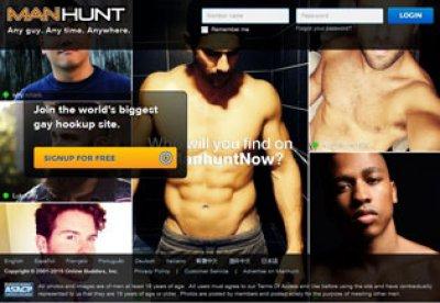 Manhunt online gay dating nummer ett gratis hookup webbplats